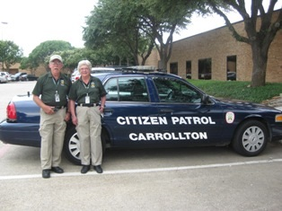 Citizen on Patrol Vehicle and CCPAAA Members